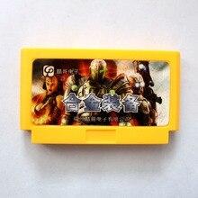 Verdadeiro Jogo Sem Repetição Metal Gear Jogo Cartucho de Cartão de Jogo de 8 Bits