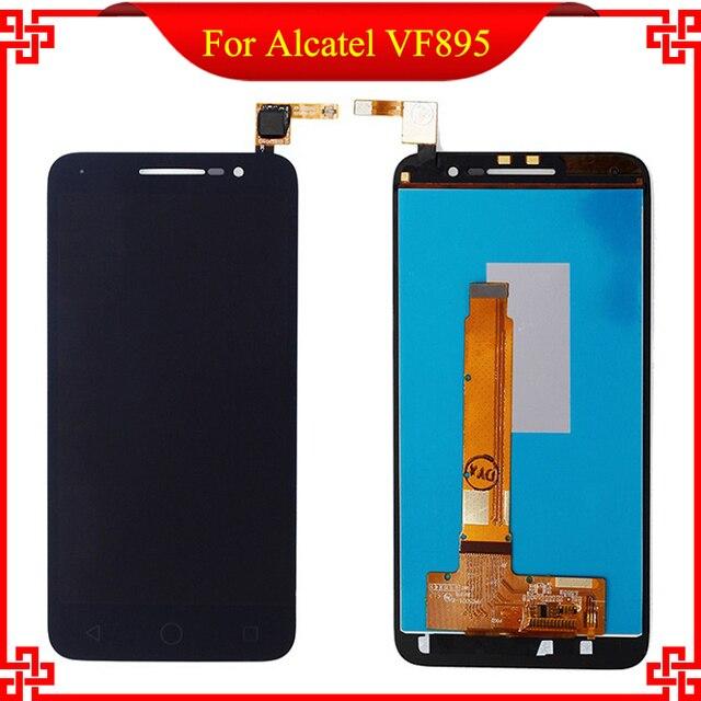 Nueva pantalla lcd original de calidad para alcatel vf895n con touch lcd de pantalla para alcatel vodafone smart prime 6 vf895 envío herramientas