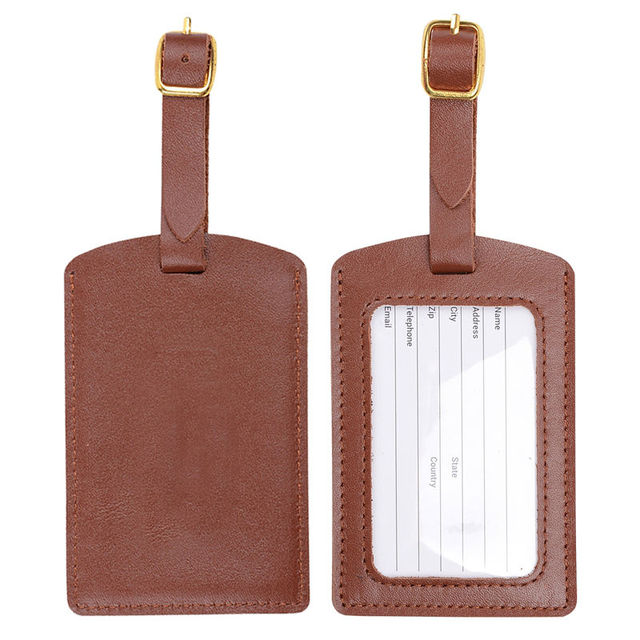 Onlvan 100 genuine leather luggage tags with business card id tags onlvan 100 genuine leather luggage tags with business card id tags pu leather suitcase tags colourmoves