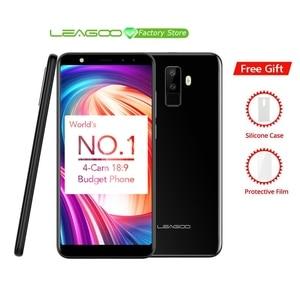 "Image 1 - Leagoo M9 5.5"" 18:9 Full Screen Four Cams Android 7.0 MT6580A Quad Core 2GB RAM 16GB ROM 8.0MP Fingerprint 3G WCDMA Mobile Phone"