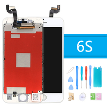 AAA+ Quality LCD Display for iPhone 6S 3D Touch Screen Digitizer Assembly for iPhone 6S Replacement Screen With Frame + Tool yelping 3 in 1 grade a quality for iphone 6s lcd frame touch pad free gift digitizer assembly