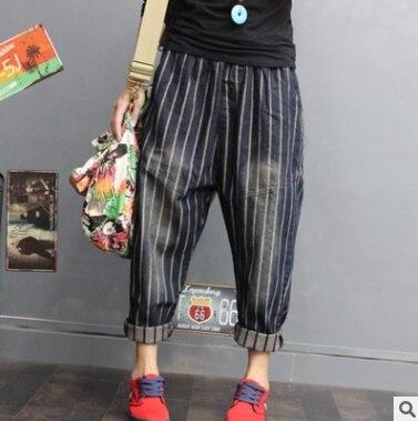 El 2018 Ocio Vaquero Mujer Pantalones Producto Diseño Verano Azul Lanzamiento Haroun Original Algodón En Del De Ygxwftq