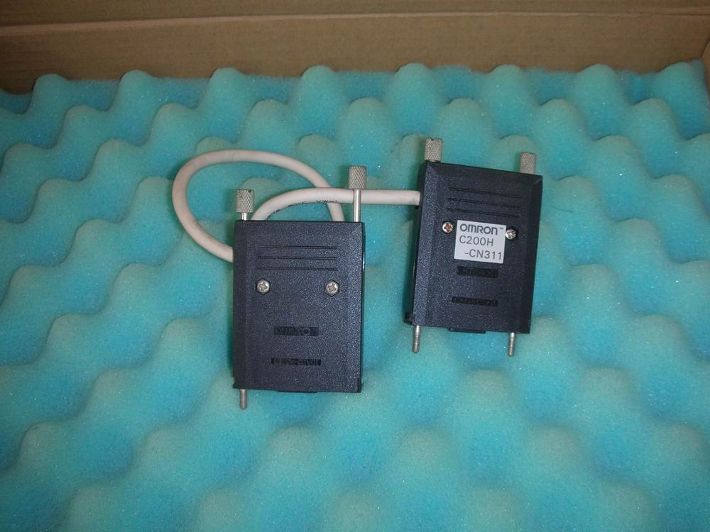 1PC USED OMRON C200H-CN311 PLC 1pc used disassemble the original omron plc module c200h md215