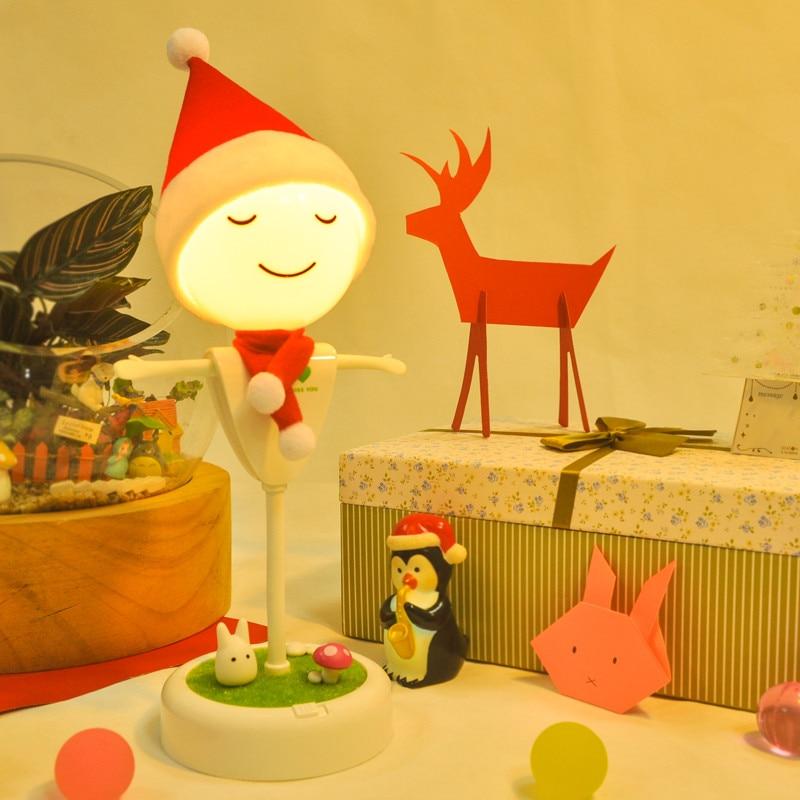 Creative USB night light table reading lamps motion sensor LED lights children Toy lamps home lighting luminary indoor lighting