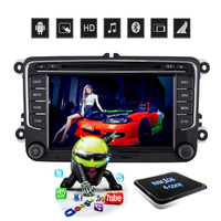 D NOBLE 2 Din 7 Inch Android 6 0 Car DVD Player GPS Navigation Car Radio
