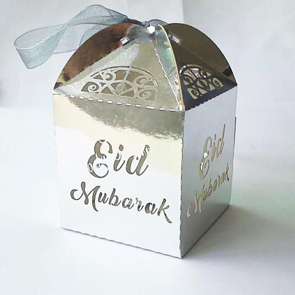 50 Mini Boîtes-cadeaux EID Mubarak