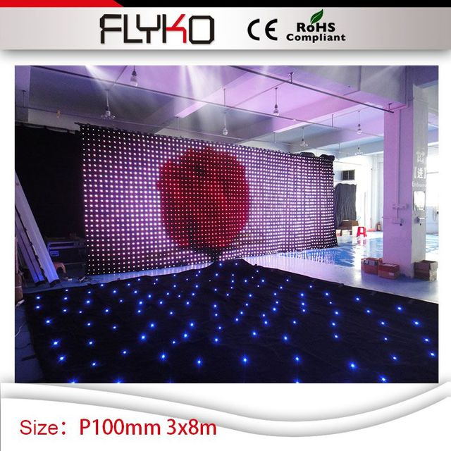 dot p10 stage background led display big screen led lights event led