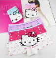 Cute cartoon little cat children underwear /2-8 years old girls cotton boxer briefs / baby cotton underwear BU04