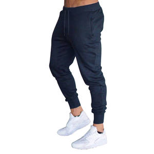 Trousers Slim-Fit Solid-Color-Pants Sport-Yaa99 Jogging Casual New Hot Drawstring