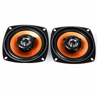 Univeral 2Pcs 4.0 Inch Car Coaxial Speaker Paired Audio Loudspeaker High Energy Double Way High End Car Music Audio Speakers
