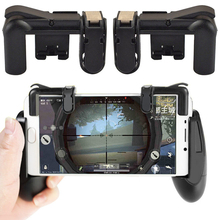 Mobile Games Shooter Controller PUBG Stand For Iphone X Xiaomi mi8 Gamepad Trigger Fire Button Aim Key Smart phone Holder Handle