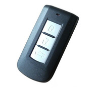 Keyless Entry Blank Smart Remote Key Shell Case Voor Mitsubishi Outlander Lancer EX ASX Pajero 3 Knoppen Fob Klep