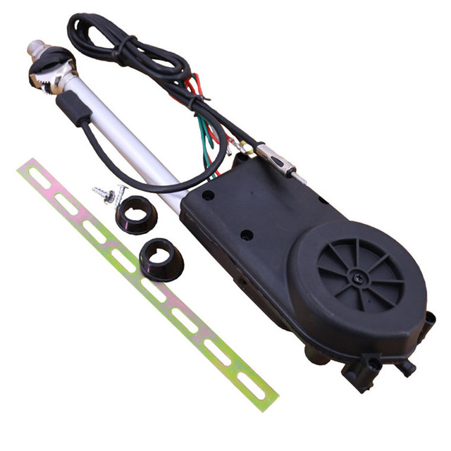 Универсальный Автомобильный Воздушная антенна Электрический авто Radio Antenna автоматические внедорожник Электрический Мощность 12 В FM/AM Выдвижная антенна