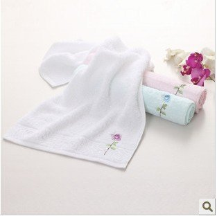 Free shipping ! Wholesale  34*76cm 5pcs/lot 100% Cotton Women  Absorbent Soft Towel ,Face Cloths,Washer Towel,Hand Towel