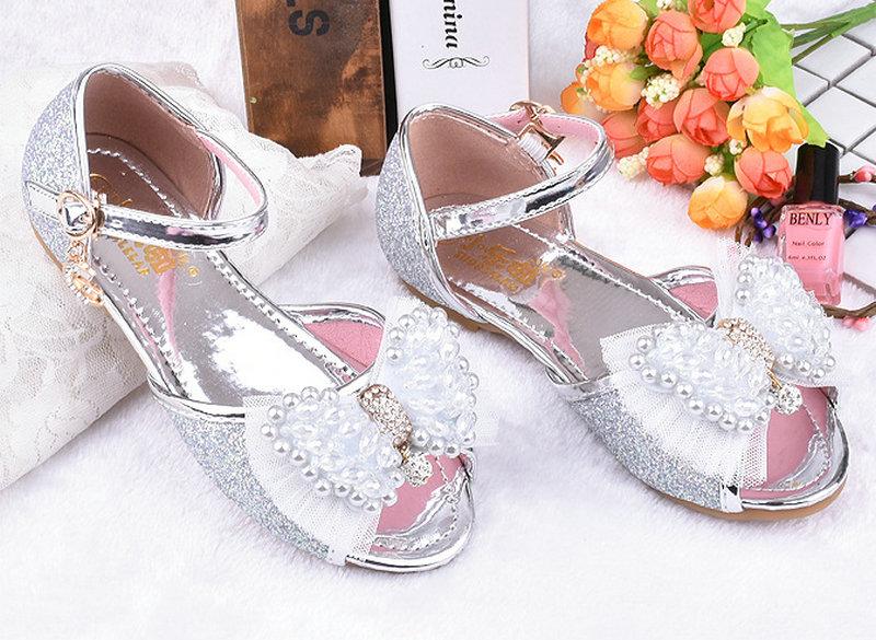 Heet verkoop zomer kinderen meisjes prinses sandalen bowtie partij - Kinderschoenen - Foto 6
