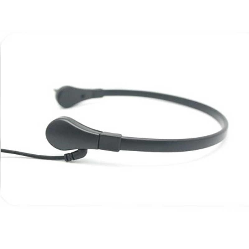 Keel Microfoon Keel Trillingen Headset Voor Twee Manier Radio Baofeng UV-5R UV-B5 UV-B6 BF-888S Talkie Walkie