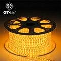 GT-Lite LED Strip, SMD3014, 12 W, 120/1 Metros, IPX6 à prova d' água, AC220V 230 V 240 V, Ruban Levou Faixa de Luz, Energia GTSL3014
