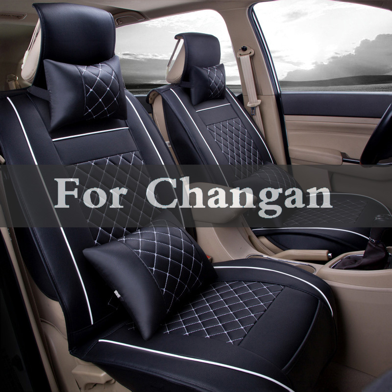 Ensembles de housses de coussin de siège arrière en cuir Pu pour voiture Changan Benni Raeton z-shine Cs35 Eado Cs75