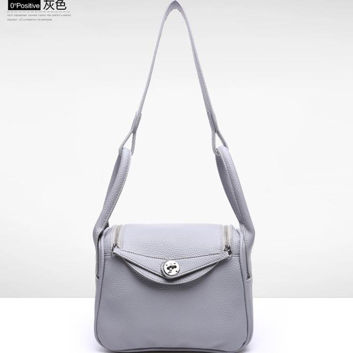 ФОТО Summer elegant lady solid color shouler bag PU leather brand designer female casuale tote handbag brief all-match crossbody bag