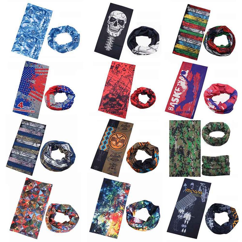 Newest Multifunctional Headband Neck Outdoor Sport Cycling Bandana Seamless Outdoor Cycling Scarf Mask Women Scarf все цены