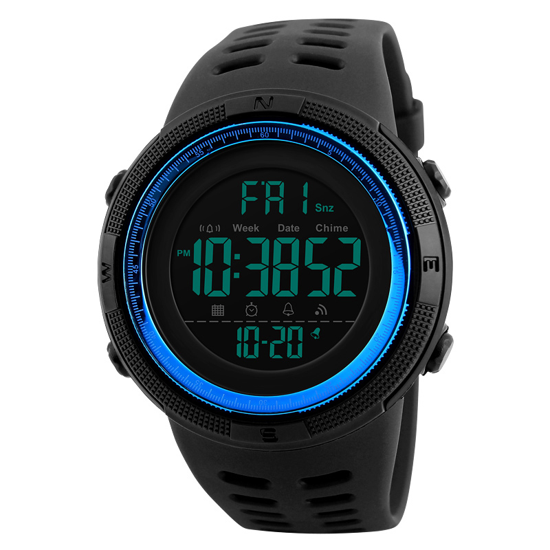 Skmei Luxury Brand Mens Sports Watches Dive 50m Digital LED Military Watch Men Fashion Casual Electronics Wristwatches Relojes 13