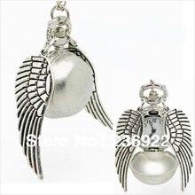 ZRM модные ювелирные изделия Поттер Серебряный Шарм карманные часы крылья ожерелье для мужчин и женщин ювелирные изделия, оригинальные Заводские поставки