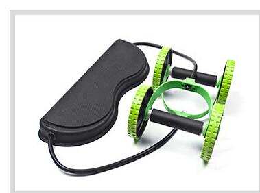 Ab Roller Wheel with Mat Abdominal Trainer Wheel Arm Waist Leg Exercise Multi-functional Fitness Equipment Exercise 18