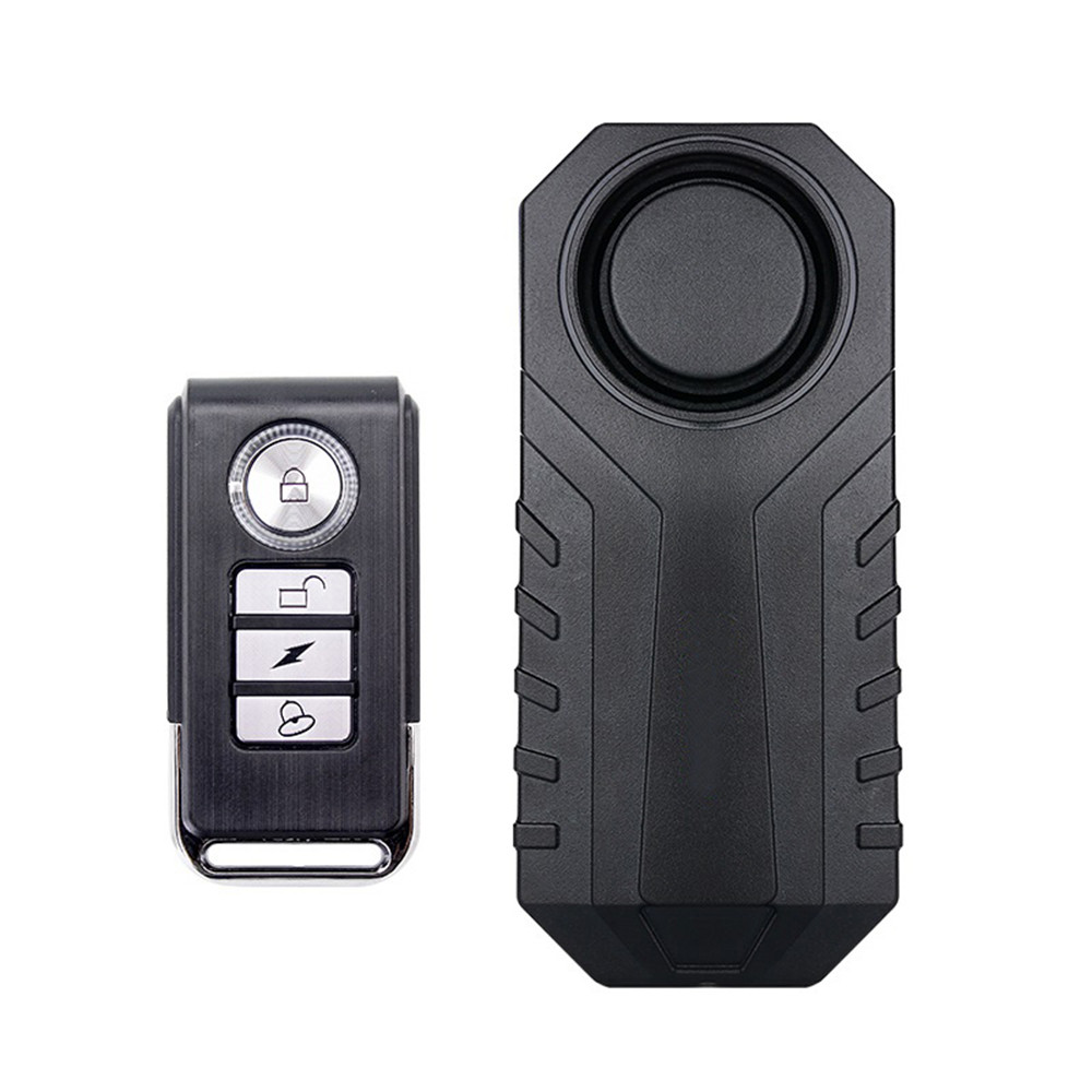 Waterproof remote control bicycle motorcycle electric vehicle safety anti-lost reminder vibration warning alarm sensorWaterproof remote control bicycle motorcycle electric vehicle safety anti-lost reminder vibration warning alarm sensor