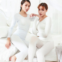 New Thermal Underwear Women's Seamless Antibacterial Women Winter Clothes Warm Long Johns Body Shaped Thin Thermo Underwear Sets