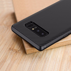 Image 2 - Nillkin Synthetic fiber for samsung galaxy note 8 case Carbon Fiber PP Plastic Back Cover for samsung note 8 case luxury 6.32