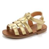 e87c9b12d Baby Girl Sandals Summer Shoes 2019 Gladiator Sandals Pu Leather Shoes  Beach Sandals Girls Casual Shoes
