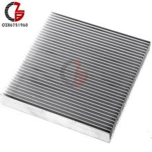 Алюминиевый радиатор охлаждения 90x90x15 мм светодиодный IC транзистор DC преобразователь