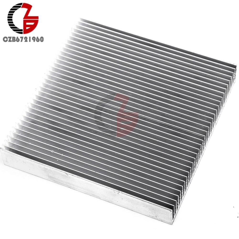 O dissipador de calor de alumínio que refrigera 90x90x15mm conduziu o conversor dc do transistor do ic da potência
