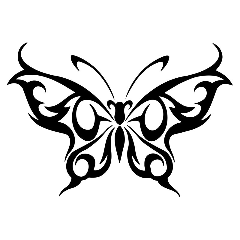 15 2 10 4 Cm Mariposa Tribal Coche Pegatinas Y Calcoman 237 As