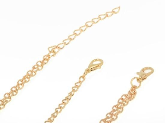 HTB1oAkwGXXXXXbOXpXXq6xXFXXXc Boho Style Two-Layer Gold Head Chain Jewelry