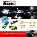 21x Canbus LED Auto Car Interior Dome Mapa de Lectura de Luz Blanca 2835 Más Nuevos Chips Kit Para BMW E46 M3 coupe Sedan 1998-2005 #79