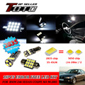 21x LED Car Auto Interior Canbus Dome Map Reading Light White 2835 Newest Chips Kit For BMW E46 Sedan coupe M3 1998-2005 #79