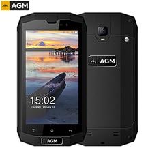 "AGM A1Q RAM 4GB+ROM 64GB IP68 Waterproof 5.0"" Android 7.0 Qualcomm MSM8916 Quad Core 4050mAh"