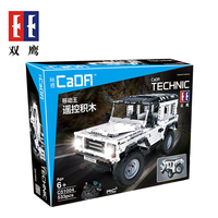 Legoings Block Technic Series RC Remote Control SUV Car Building Block Brick Toys Jeep Car toys C51004