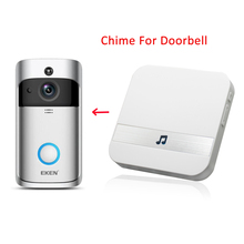 Indoor Doorbell Chime For EKEN V5 Door Bell AC 110-220V With US UK EU AU Plug For Home Classroom Office Smart Chimes