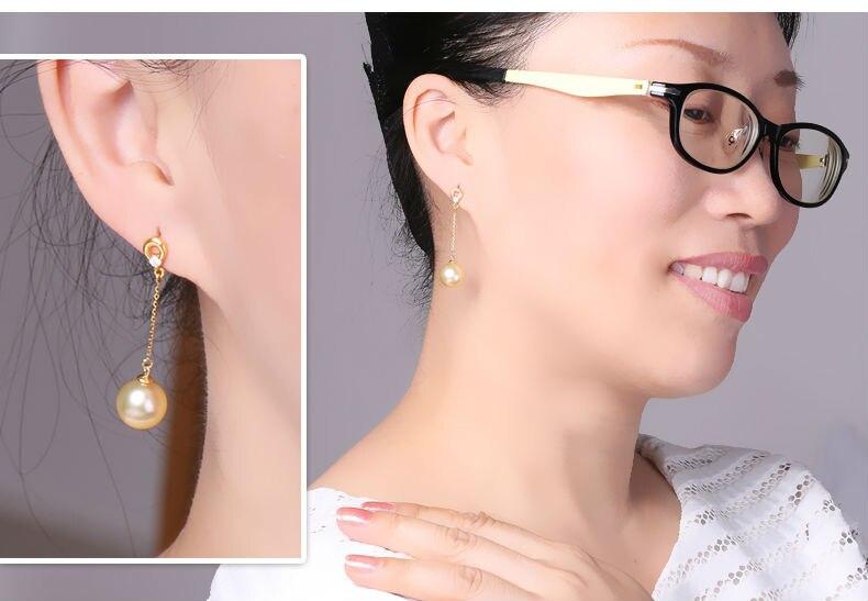 gold pearl earrings 99