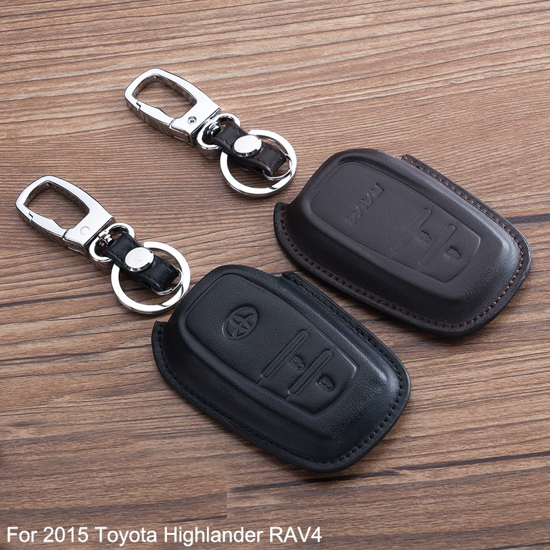 2016-Hot-Sale-High-Quality-Cortical-Car-Key-Case-Cover-Holder-Leather-Special-For-TOYOTA-RAV4