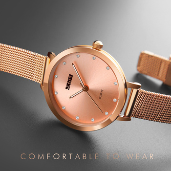 цены Fashion Women Watches Rose Gold Stainless Steel Bracelet Watch Women Luxury Quartz Wristwatch Female Clock Montre Femme 2019 New