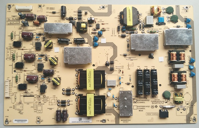 LCD-70LX640A power supply RUNTKB058WJQZ RUNTKB058WJN1 is used lcd 32d500a power supply runtka673wjqz jsi 321001 is used