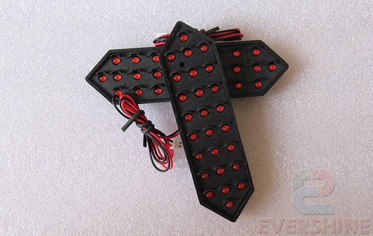 12inch 7 Seqment Modulları Qırmızı Rəng Digita Nömrələri, - LED işıqlandırma - Fotoqrafiya 4