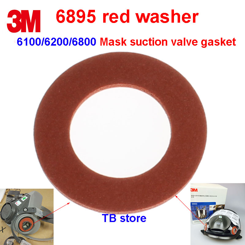 3M 6895 2PCS Breathing hole washer 6200/6800 Gas mask Air inlet seal Protect the gasket 6000 Series mask replace Gaskets3M 6895 2PCS Breathing hole washer 6200/6800 Gas mask Air inlet seal Protect the gasket 6000 Series mask replace Gaskets