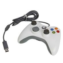 1 шт. Corlorful USB Проводной Регулятор Игры Геймпад Джойстик Для Xbox для 360 Slim Аксессуары без коробки