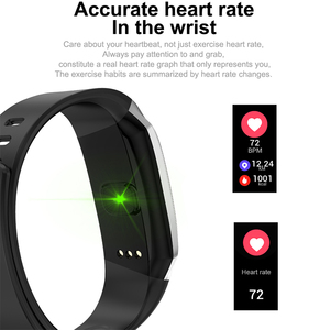 Image 3 - 2020 DEMOR KB08 Smart Bracelet Fitness Activity Band Blood Pressure Heart Rate Monitor Wristband for Android Men Women Smartband