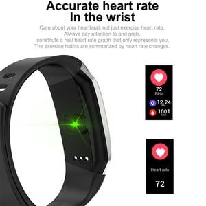Image 3 - 2020 ديمور KB08 سوار اللياقة الذكي النشاط الفرقة ضغط الدم مراقب معدل ضربات القلب معصمه ل أندرويد الرجال النساء Smartband