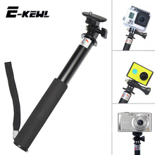 Extendable Waterproof Gopro Monopod Tripod tripe with Gopro Mount Adapter for GoPro Hero 4 3 Sj4000 sjcam xiaomi yi Accessories